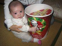 KFC Xmas in Japan by Ozchin-Flickr