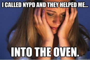 Not great PR for the NYPD (courtesy of Tumblr)