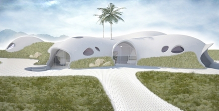 The Binishell home has the snazzy design I like (Forbes)