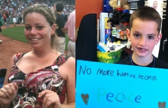 Victims Krystle Campbell and Martin Richard (courtesy of Facebook and FOX News)