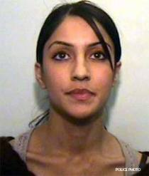 Mindy Sanghera is a Sikh in Manchester, England who was dating Sair Ali, a Muslim. Unfortunately, an arranged marriage led Ali to marry his younger cousin, 17-year-old Sana... and she soon became pregnant. That set Mindy off and one day while Ali was away at Mosque, she went to his home and stabbed his pregnant wife 42 times with a kitchen knife. Mindy was sentenced to life with a minimum of 14 years, ironically a week after Sana's child would have been born.