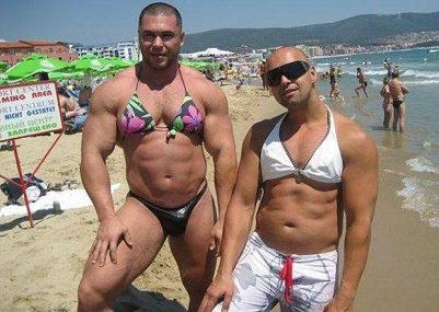 The latest fashion in bikinis for men (worldduh.com)