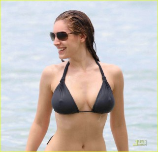 My final celebrity beach body belongs to Kelly Brook, a British model, actress and entrepreneur (Just Jared)