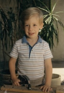 Daniel at 5 years old (courtesy of the Somers family)
