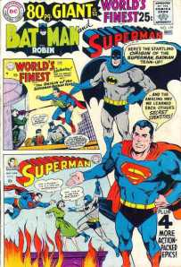 Batman and Superman go way back (DC Comics)