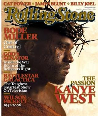 Kanye West as Jesus? You had to see this one coming (Rolling Stone)