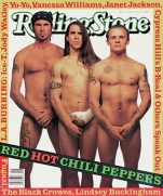 The Red Hot Chili Peppers saved the magazine wardrobe costs (Rolling Stone)