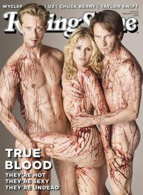 The stars of True Blood got even bloodier for their controversial cover (Rolling Stone)
