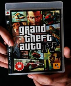 Grand Theft Auto IV: The Root of All Evil... whatever (Cate Gillon/Getty Images)