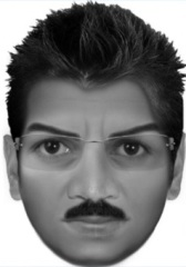 A composite of the wannabe child kidnapper (Mandeville Police Department)