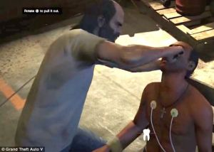 This torture scene has human rights groups up in arms (Rockstar Games)