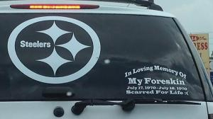This combination of stickers works much better for me. Go Steelers! (deadspin.com)