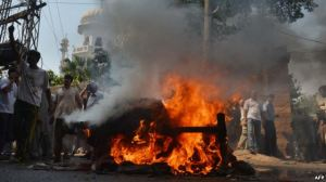 Protests erupt in Islamabad (AFP)