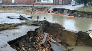 The damage in Rocky Mount from Floyd (ABC News)