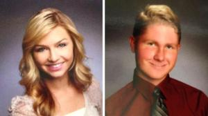 Cassidy Wolf and Abrahams, her online tormentor (NBC News)