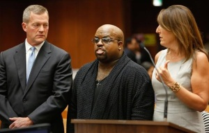 CeeLo pleads not guilty in court (Mel Melcon/AFP/Getty Images)
