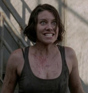 Even Maggie is excited for season four! (AMC)