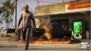 If God made everything, He must have made GTA V, too! (Rockstar Games)