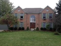 Burning down the Simon house (Jennifer Edwards Baker/The Cincinnati Enquirer)