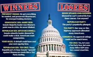 Who were the winners and losers? I know which side the American people were on (Associated Press)
