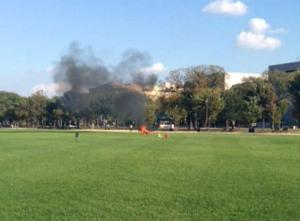 Smoke on the National Mall (Hand Out)