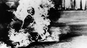 Thich Quang Duc in 1963 Saigon (Getty Images)