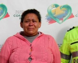 No viva Zapata... ella es mala! (National Police of Colombia/EPA/Landov)