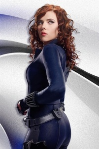 Scarlett Johannson as Black Widow (Marvel Entertainment)