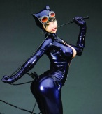 Catwoman with some anime flair (DC Comics)