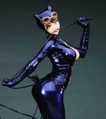 Catwoman with some anime flair (DC Comics)