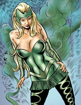 The lovely and mesmerizing Enchantress (DC Comics)