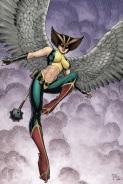Hawkgirl soars in sexy spandex (DC Comics)