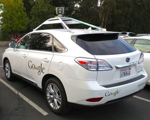 The Google car drives itself! (Google)