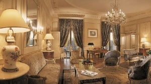 The presidential suite at the Omni William Penn Hotel (Supplied)