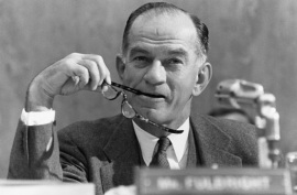 Senator Fulbright warned JFK about Texas (Corbis Images)