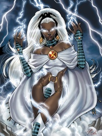 Storm can make every day sunny and bright (Marvel Comics)