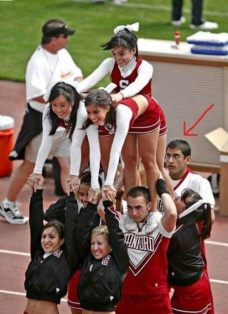 I knew I should have been a male cheerleader! (The Chive)