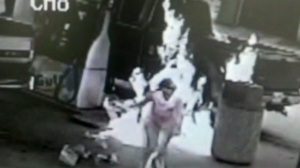 Woman on fire. And no, this is not the sequel to the Denzel Washington film (CNN)