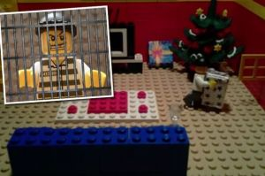 Christmas safety via LEGO (The Mirror UK/West Midlands PD)