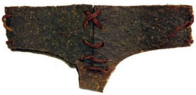 """Edible """"brief jerky"""" underwear: warm, convenient food on the fly. Just remember to floss the pubes out of your teeth when you finish (Vitamin-Ha)"""