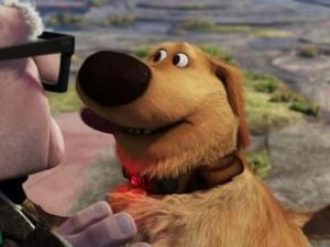 Dug, the talking dog (Disney/Pixar)