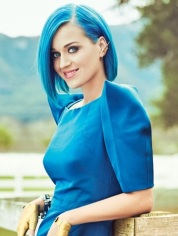 Feeling blue? This lovely lady can cheer you up (Teen Vogue)