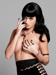 Katy's looks can kill (Yu Tsai/Esquire)