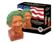 The Prez looks pretty good with a leafy green afro (Vitamin-Ha)
