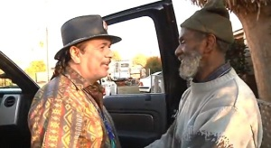 Santana and Malone reunite after 40 years (YouTube/TVman1981)