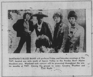 The Santana Blues Band (San Francisco Chronicle)