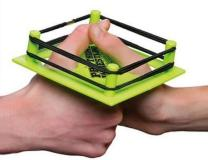 Do you really need a ring for thumb wrestling? Are you planning to tag in some other digit or something? (Vitamin-Ha)