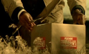 """The contents of this box from the film """"Seven"""" are unforgettable (New Line Cinema)"""