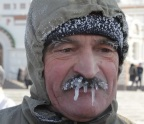 I hope his mustache doesn't snap off! (English Russia)