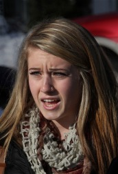 Junior Alex Arnaud speaks out (Mike Springer/Gloucester Daily Times)